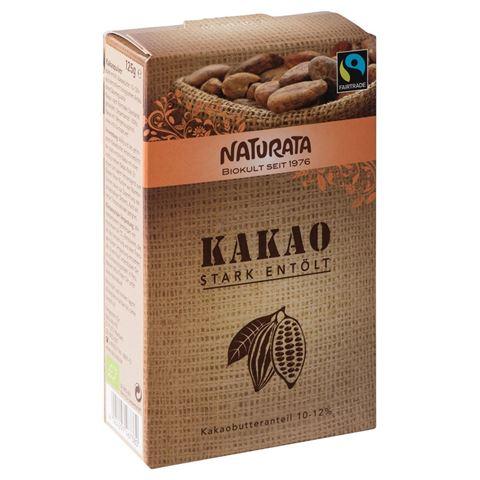 Naturata Κακάο (10-12% λιπαρά) 125γρ