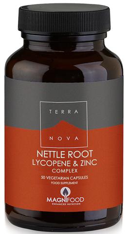 Terranova Prostate Support - Nettle Root Lycopene & Zinc Complex 50 Κάψουλες