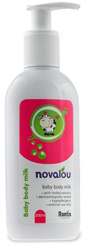 Novalou Baby Body Milk, 200ml