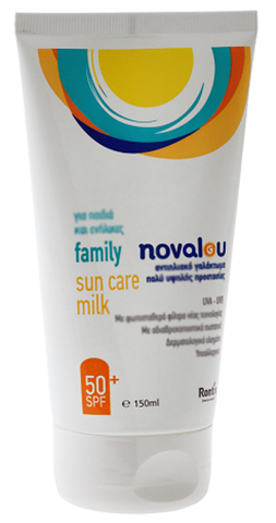 Novalou Family Sun Care Milk SPF50, 150ml