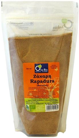 Όλα Βιο Ζάχαρη Rapadura (Sucanat) BIO 500gr