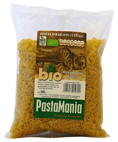 Pastamania Μακαρόνια Κοφτά ΒΙΟ 500gr