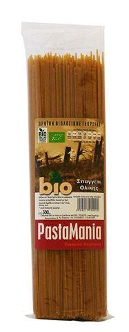 Pastamania Μακαρόνια Ολικής (Δουλεμένα με Πέτρα) ΒΙΟ 500γρ