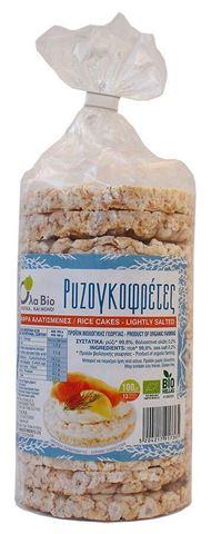 Όλα Bio Ρυζογκοφρέτες Χωρίς Γλουτένη Με Αλάτι 13τμχ, 100gr