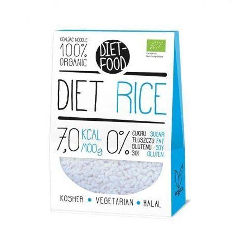 Diet Food Ρύζι Κonjac ΒΙΟ 385gr