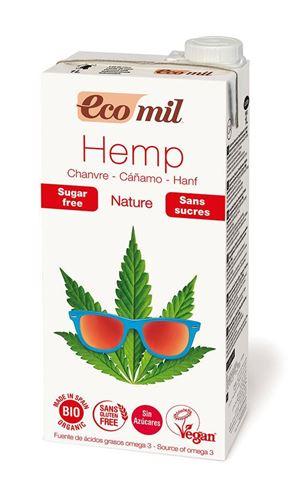 EcoMil Ρόφημα Κάνναβης Χωρίς Ζάχαρη Προιόν Vegan ΒΙΟ 1lt