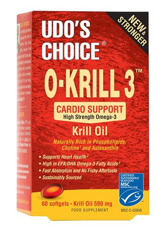 Udo's Choice Krill Oil 590mg, 60 Μαλακές Κάψουλες