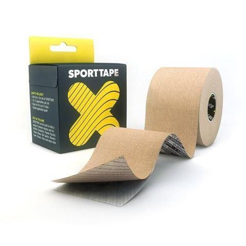 Sporttape Extra Sticky Ταινία Κινησιοπερίδεσης 5CM x 5M Μπεζ