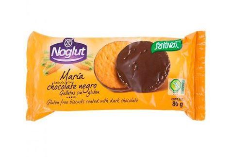 Santiveri Μπισκότα Μαύρη Σοκολάτα Maria Χωρίς Γλουτένη 80gr