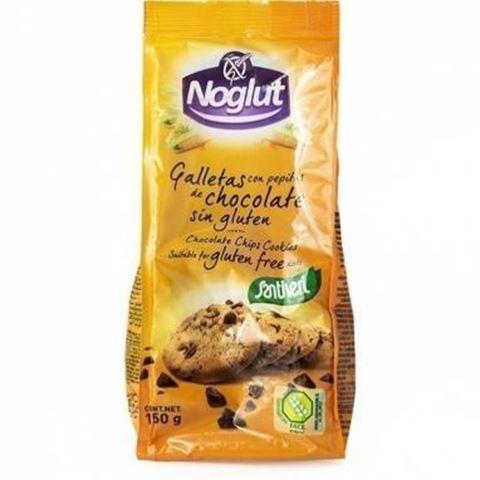 Santiveri Μπισκότα με Σταγόνες Σοκολάτας Χωρίς Γλουτένη 150gr