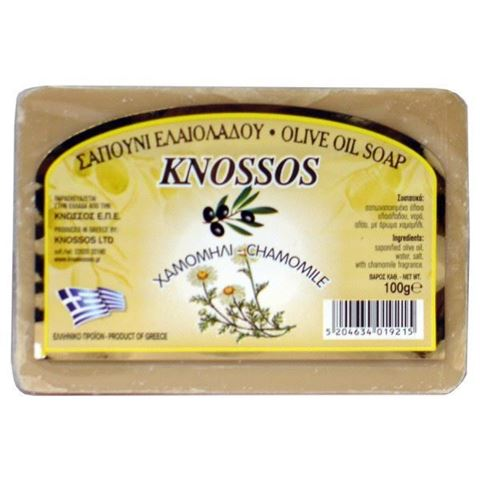Knossos Ελαιοσάπουνο Χαμομήλι 100gr