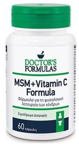 Doctor's Formulas MSM + Vitamin C 1000 Formula 60 Κάψουλες