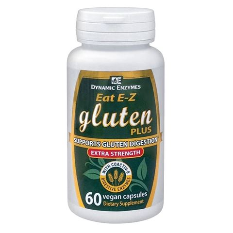 Dynamic Enzymes Gluten Plus, 30 Κάψουλες