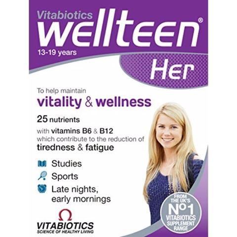 Vitabiotics WellΤeen for Her 30 Ταμπλέτες
