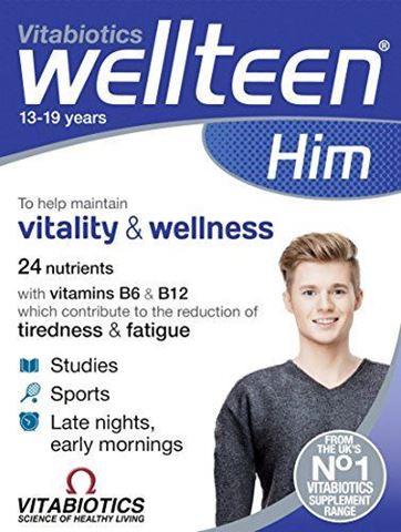 Vitabiotics WellΤeen for Him 30 Ταμπλέτες