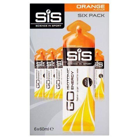 SiS GO Isotonic Gel Orange 6x60ml
