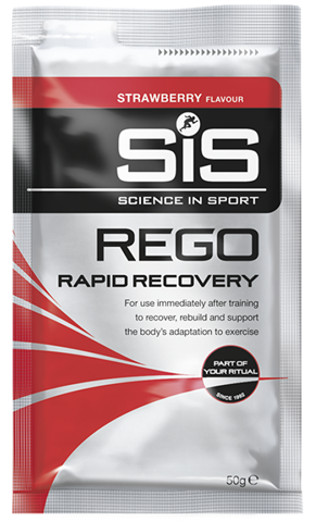 SiS REGO Rapid Recovery Φράουλα 50g Sachet