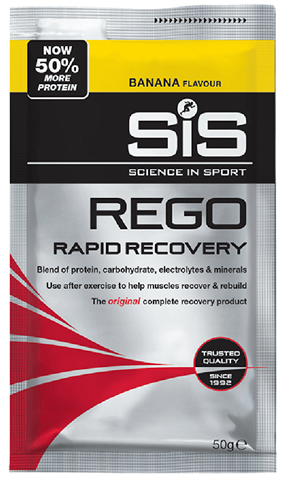 SiS REGO Rapid Recovery Banana 50g Sachet