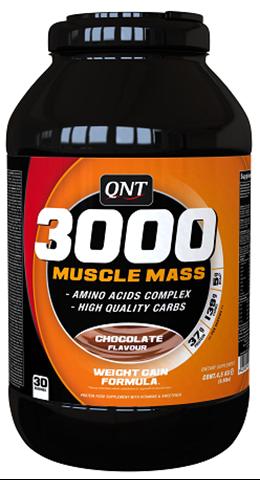 QNT 3000 Muscle Mass Γεύση Σοκολάτα, 4500γρ