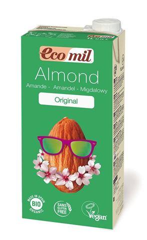 Ecomil Ρόφημα Αμυγδάλου με σιρόπι αγάβης 1lt
