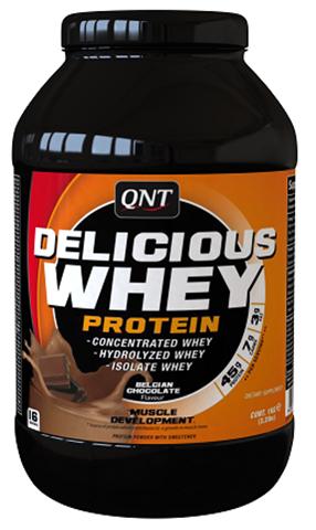 QNT Delicious Whey Protein Powder Σοκολάτα, 908γρ