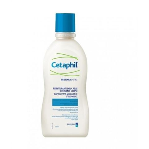 Cetaphil Restoraderm, Αφρόλουτρο Ανάπλασης Επιδερμίδας, 295ml