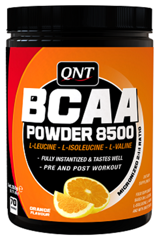 QNT BCAA 8500 Instant Powder Orange Flavour 350gr
