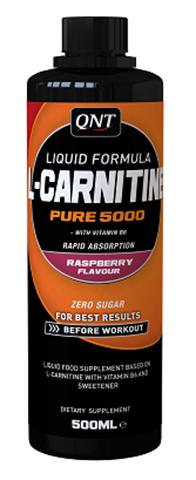 QNT L-Carnitine Liquid 5000 Raspberry, 500ml
