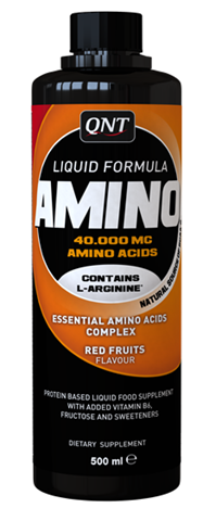 QNT  Amino Liquid,  Flavour Red Fruits 500ml