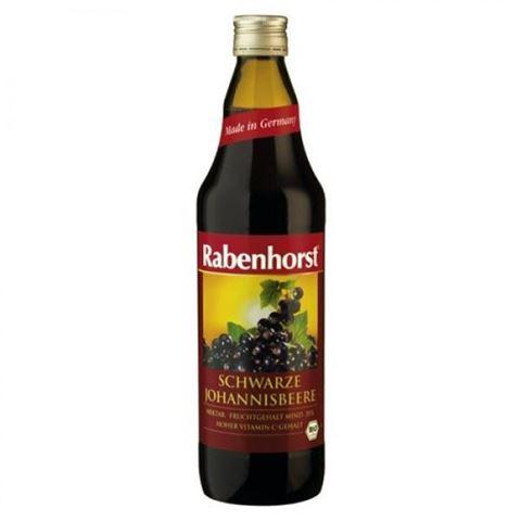 Rabenhorst Χυμός Μαύρο Φραγκοστάφυλο 100% ΒΙΟ 750ml