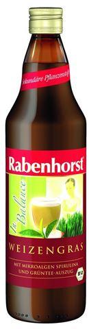Rabenhorst Χυμός Σιταρόχορτου με Σπιρουλίνα & Πράσινο Τσάι ΒΙΟ 750ml