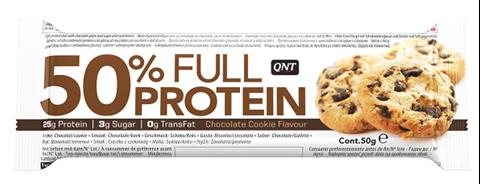QNT 50% Full Protein Bar Chocolate Cookie 50γρ
