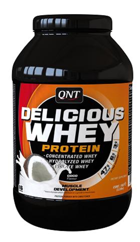QNT Delicious Whey Protein Powder Coconut, 2200γρ