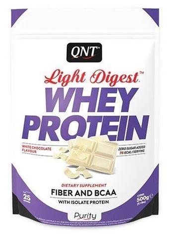 QNT Light Digest Whey Protein White Chocolate, 500gr