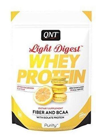 QNT Light Digest Whey Protein Lemon Macaroon, 500gr