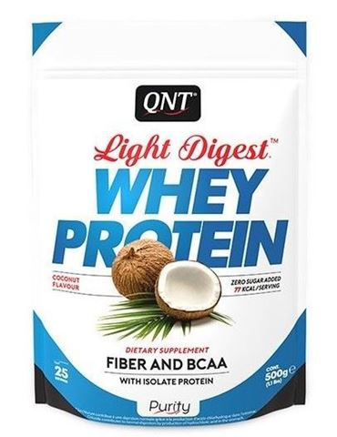 QNT Light Digest Whey Protein Coconut, 500gr