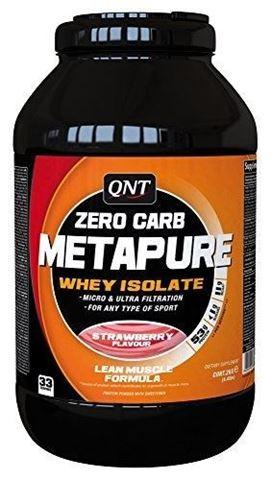 QNT Zero Carb Metapure Strawberry, 2000gr