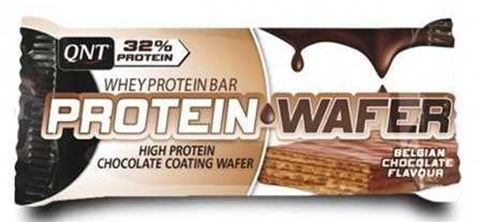 QNT Protein Wafer 32%, Chocolate, 35gr