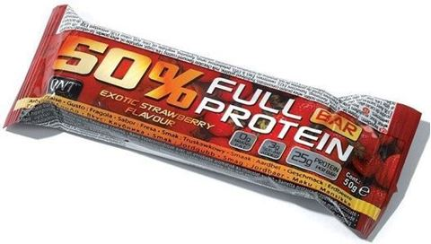 QNT 50% Full Protein Bar Exotic Strawberry, 50γρ