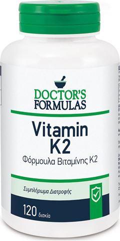 Doctor's Formulas Vitamin K2, 120 Κάψουλες