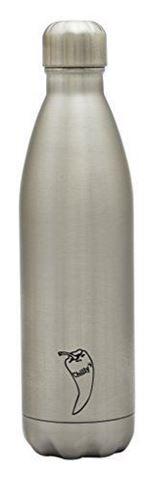 Chillys Original Silver Παγούρι από Ανοξείδωτο Ατσάλι 500ml