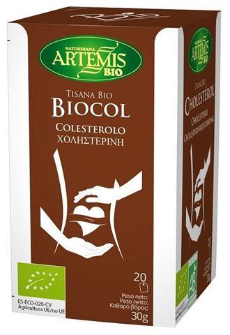 Artemis Μείγμα βοτάνων για Χοληστερίνη,  20 φακελάκια