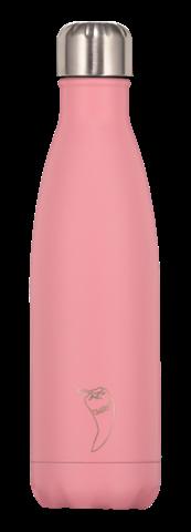 Chillys Pastel Pink Παγούρι από Ανοξείδωτο Ατσάλι 500ml