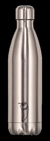 Chillys Original Silver Παγούρι από Ανοξείδωτο Ατσάλι 750ml