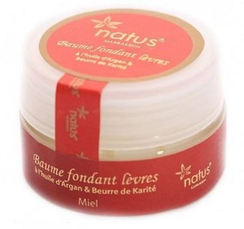 Natus Marrakech Lip Balm με Άρωμα Μέλι 15ml