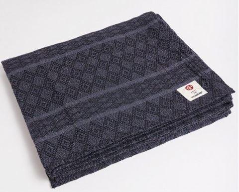 Manduka Cotton Blanket Thunder 1 Τεμάχιο