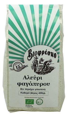 Βιοφρέσκο Αλεύρι Φαγόπυρου 400gr