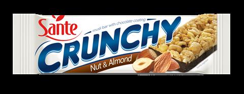 Sante Crunchy Τραγανή μπάρα Σοκολάτα & Ξηροί Καρποί 40gr