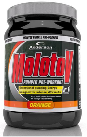 Anderson Molotov Pumped Pre-Workout Orange 600g