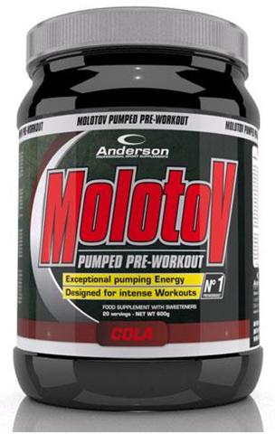 Anderson Molotov Pumped Pre-Workout Cola, 600g